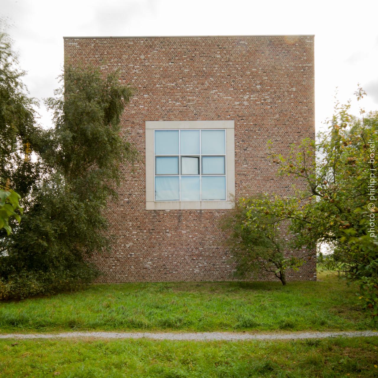 Das Haus für Archiv, Bibliothek und Wohnen von Erwin Heerich
