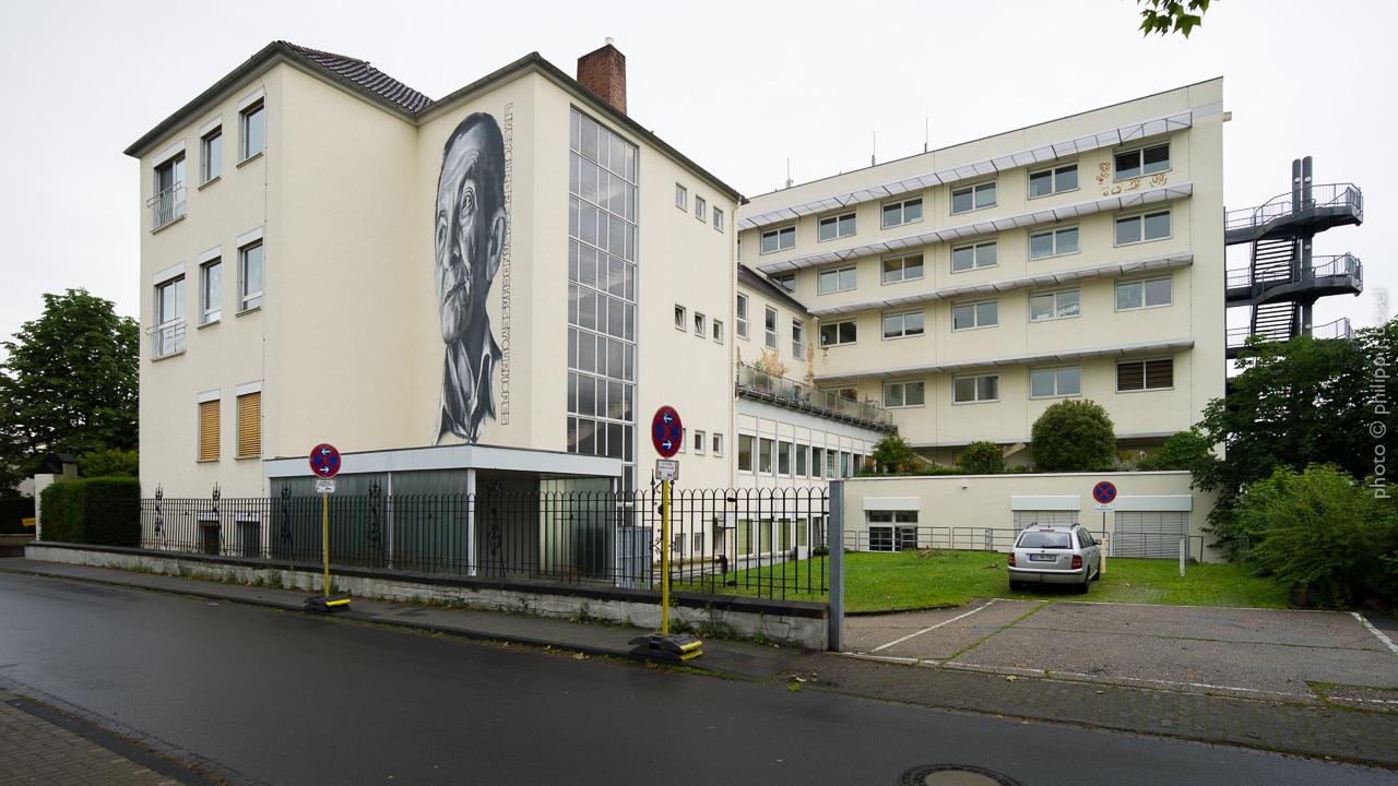 Endstation ein Krankenhaus voller Kunst