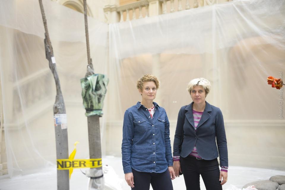 Marianne Wagner und Britta Peters