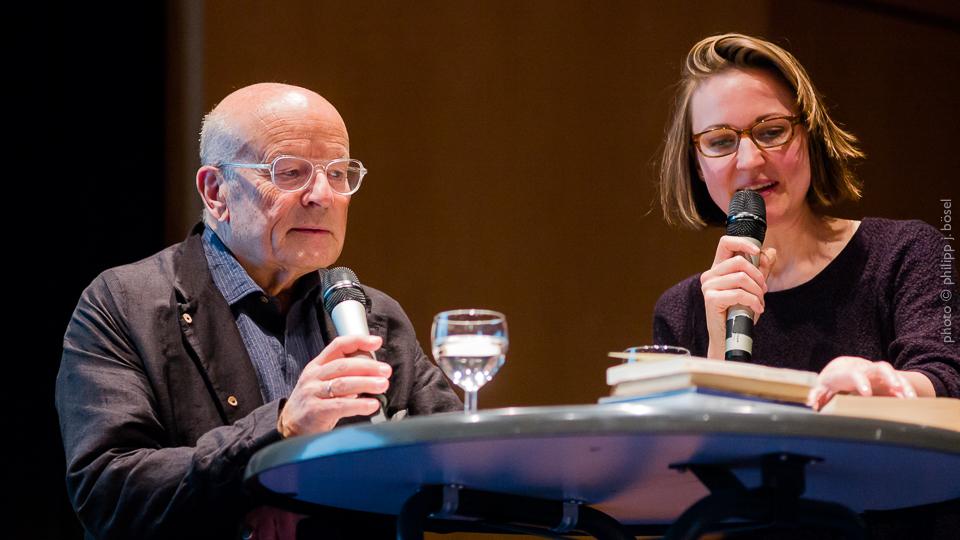 Volker Schlöndorff und Dr. Miriam Halwani
