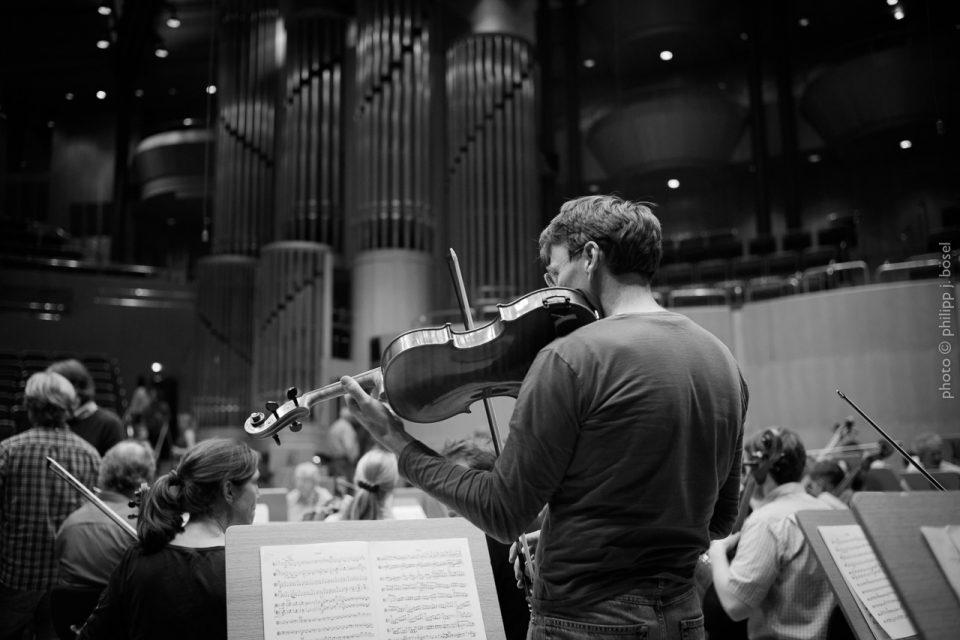 WDR Sinfonieorchester Probe