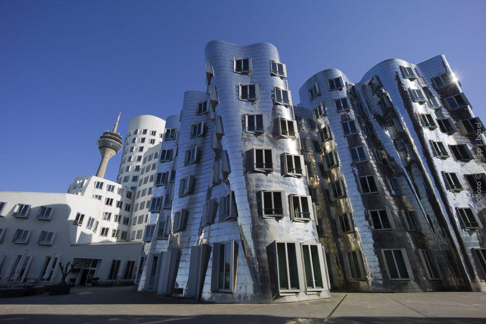 Neuer Zollhof im Düsseldorfer Medienhafen